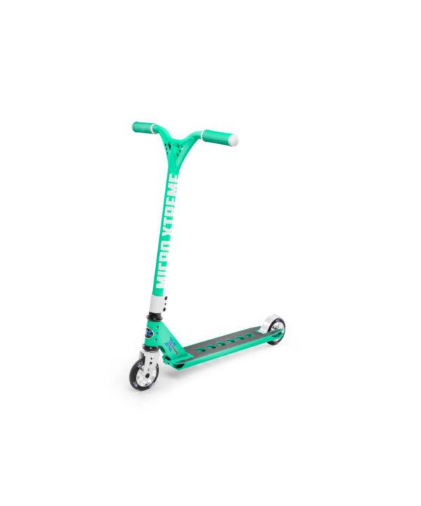 Micro Trixx - Stunt Scooter mint-weiss