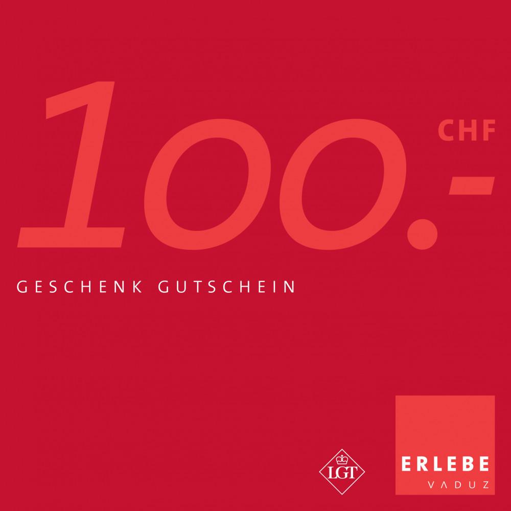 Erlebe Vaduz Gutschein CHF 100